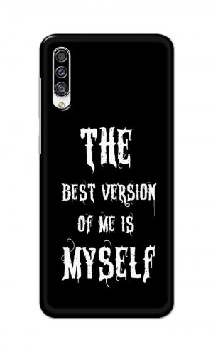 For Samsung Galaxy A30s Printed Mobile Case Back Cover Pouch (The Best Version Of Me)