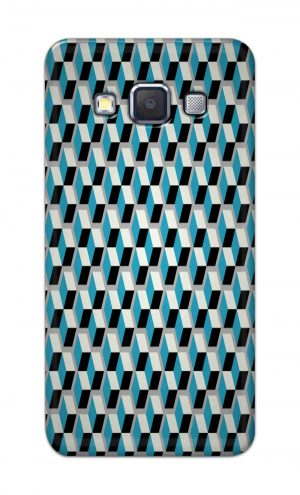 For Samsung Galaxy A5 2015 Printed Mobile Case Back Cover Pouch (Diamonds Pattern)
