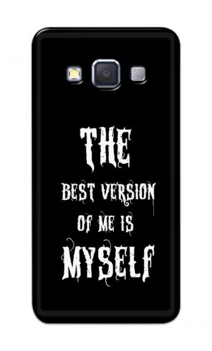 For Samsung Galaxy A5 2015 Printed Mobile Case Back Cover Pouch (The Best Version Of Me)