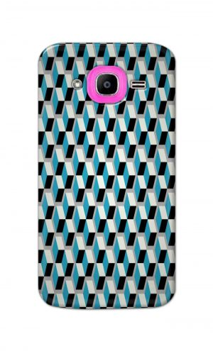 For Samsung Galaxy J2 Pro Printed Mobile Case Back Cover Pouch (Diamonds Pattern)