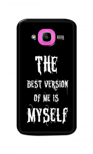 For Samsung Galaxy J2 Pro Printed Mobile Case Back Cover Pouch (The Best Version Of Me)