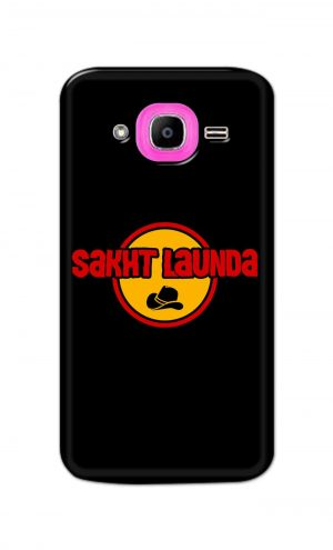 For Samsung Galaxy J2 Pro Printed Mobile Case Back Cover Pouch (Sakht Launda)