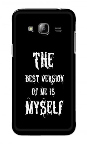 For Samsung Galaxy J3 Printed Mobile Case Back Cover Pouch (The Best Version Of Me)