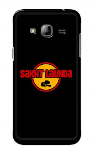 For Samsung Galaxy J3 Printed Mobile Case Back Cover Pouch (Sakht Launda)