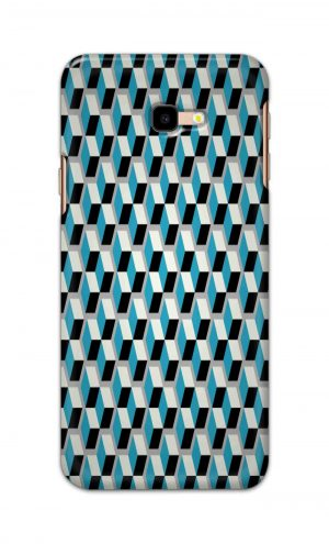 For Samsung Galaxy J4 Plus Printed Mobile Case Back Cover Pouch (Diamonds Pattern)