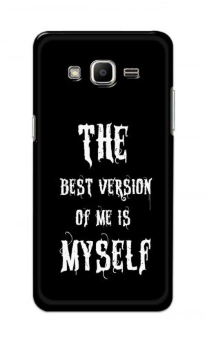 For Samsung J2 Printed Mobile Case Back Cover Pouch (The Best Version Of Me)