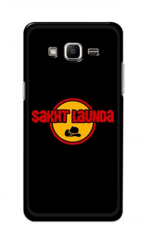 For Samsung J2 Printed Mobile Case Back Cover Pouch (Sakht Launda)