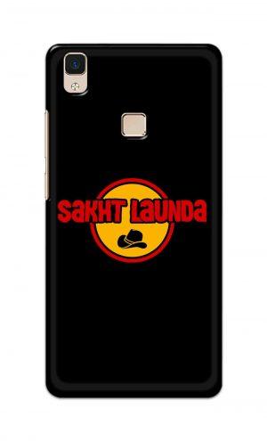 For Vivo V3 Ptinted Mobile Case Back Cover Pouch (Sakht Launda)
