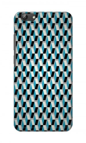 For Vivo Y69 Ptinted Mobile Case Back Cover Pouch (Diamonds Pattern)