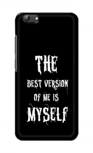 For Vivo Y69 Ptinted Mobile Case Back Cover Pouch (The Best Version Of Me)