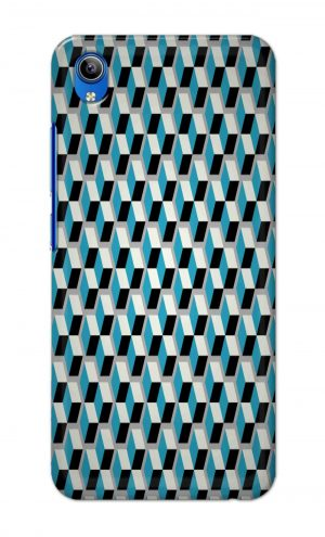 For Vivo Y91i Ptinted Mobile Case Back Cover Pouch (Diamonds Pattern)