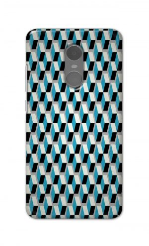 For Xiaomi Redmi Note 4 Printed Mobile Case Back Cover Pouch (Diamonds Pattern)