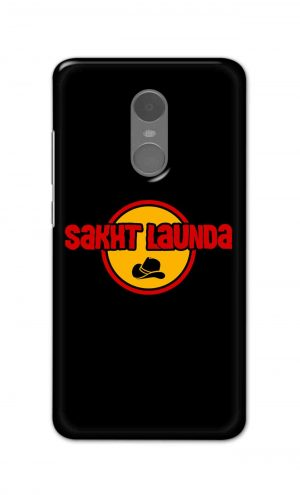For Xiaomi Redmi Note 4 Printed Mobile Case Back Cover Pouch (Sakht Launda)